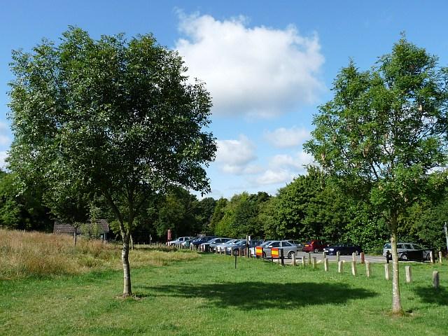 Car park at Selsdon Wood Nature Reserve