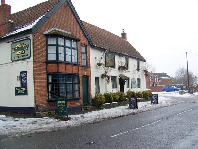 The Churchill Arms, West Lavington