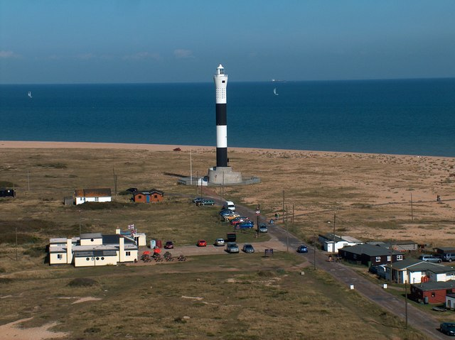 East View from The Old Lighthouse at Dungeness