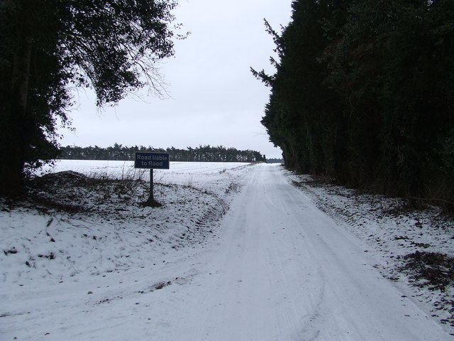 Road Liable To Flood