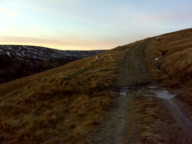Up towards Meall na Moine