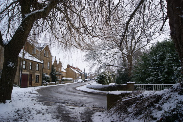 Southern end of Martock looking towards Water street.