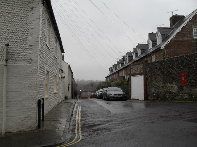 Looking from King Street into Bond Street