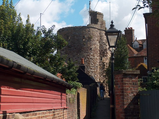 View of the Landgate, Rye