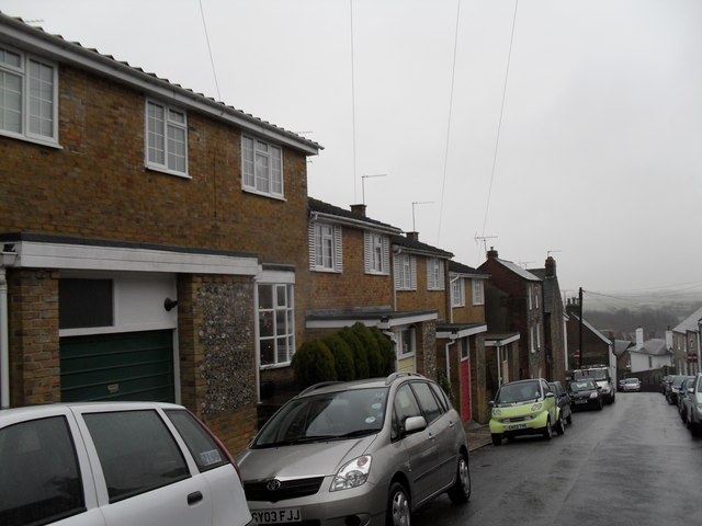Modern houses in King Street