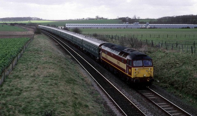 Charter train to Immingham