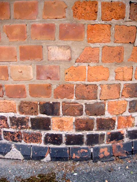 Bench mark on the corner of St John's Road
