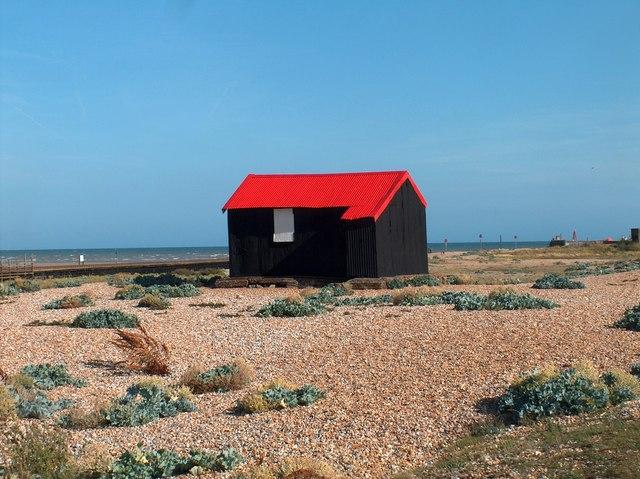 Fisherman's Hut Near Rye Harbour