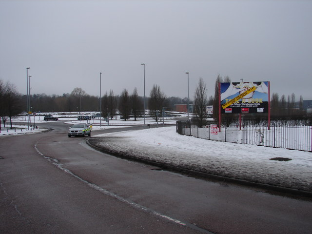 Roundabout on the A5183