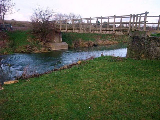Footbridge over the Welland