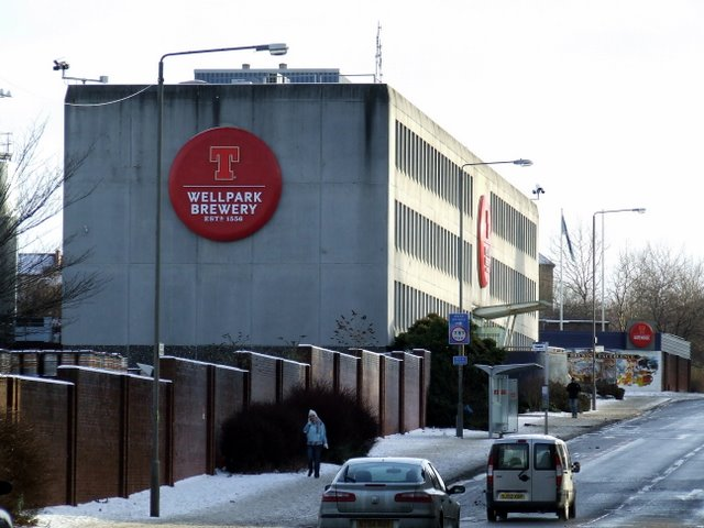 Tennents Wellpark Brewery