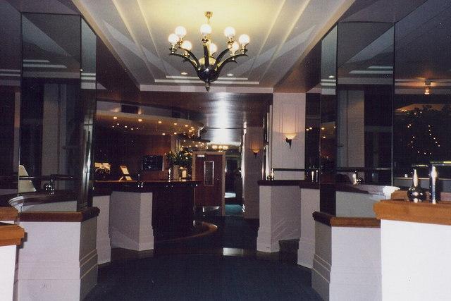 Douglas - The Empress Hotel lobby