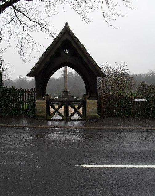 The cemetery gates in London Road