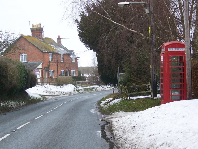 Telephone box, Rushall