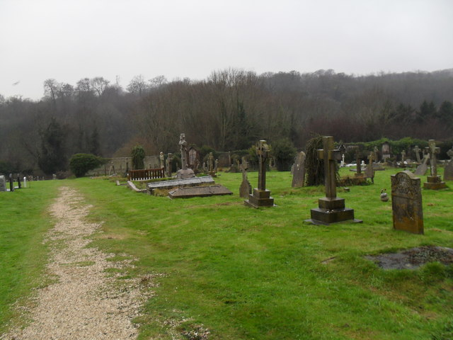 A bleak December afternoon in Arundel Cemetery (2)