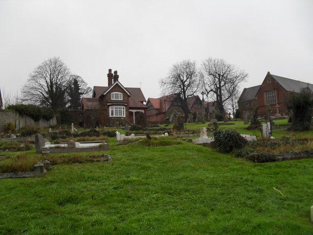 A bleak December afternoon in Arundel Cemetery (7)