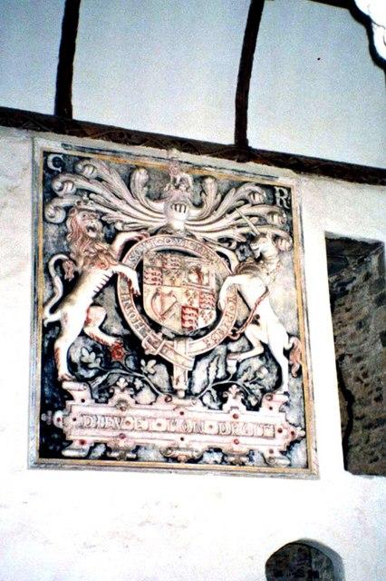 Carolean royal arms
