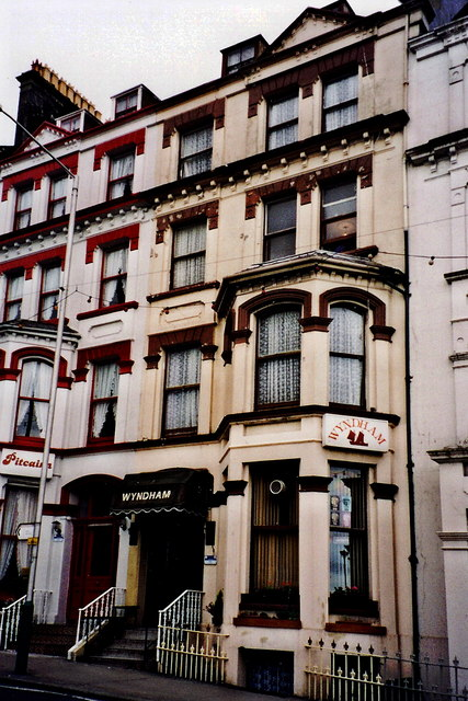 Douglas - Buildings along north side of Church Road