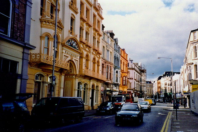 Douglas - Buildings along Victoria Street
