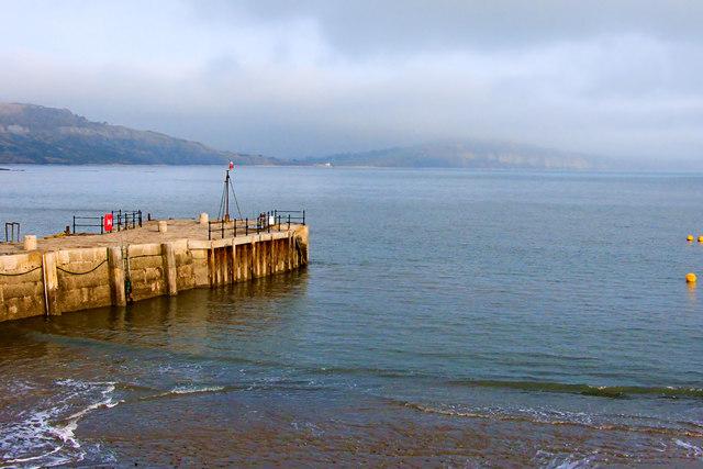 Misty Afternoon ~ Lyme Regis