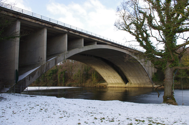 M6 bridge over River Lune