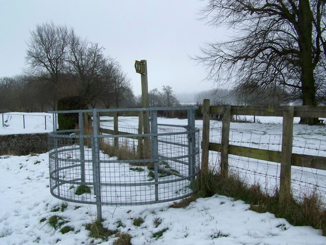 Kissing gate, Rushall