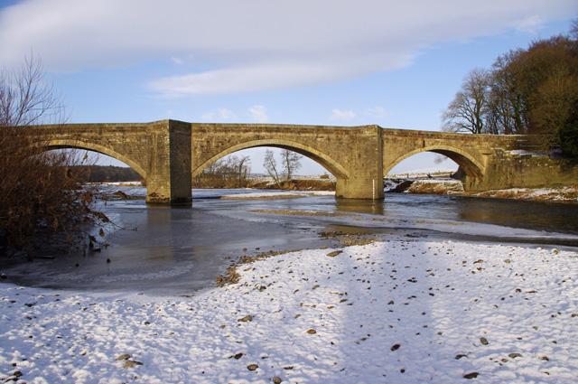 Loyn Bridge in winter