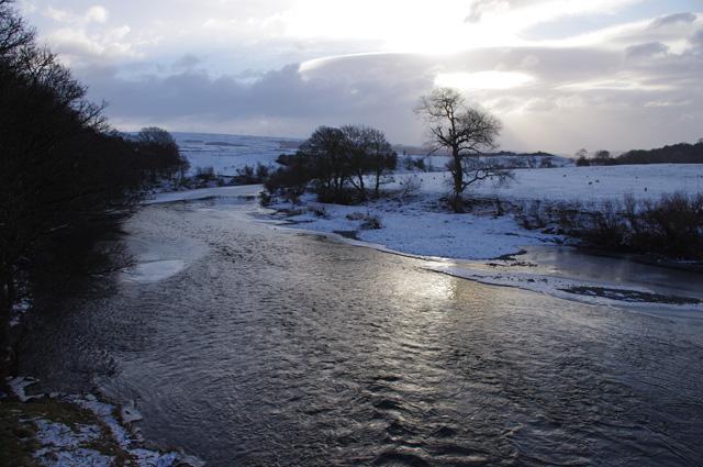 River Lune, downstream from Loyn Bridge