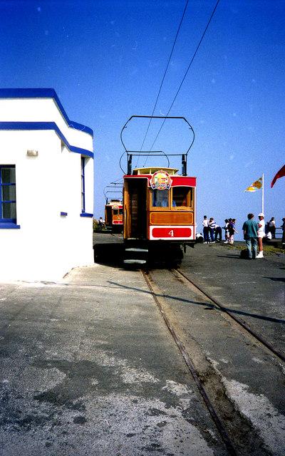 Summit station, Snaefell Mountain Railway