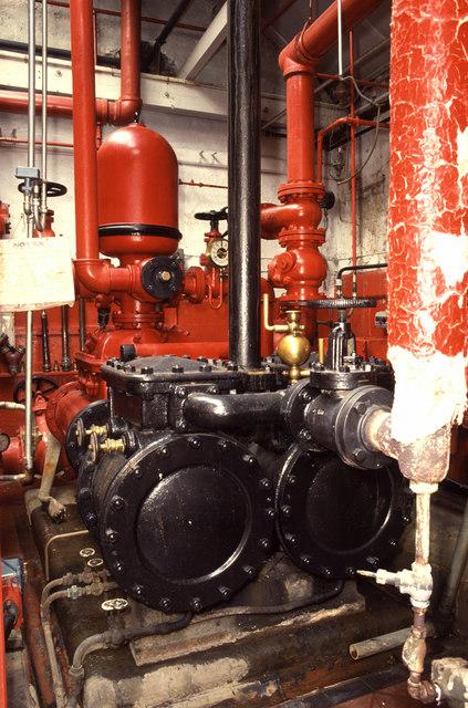 Steam fire pump, Lea Mills
