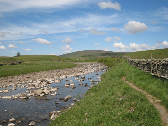 Pennine Way footpath near Saur Hill Bridge