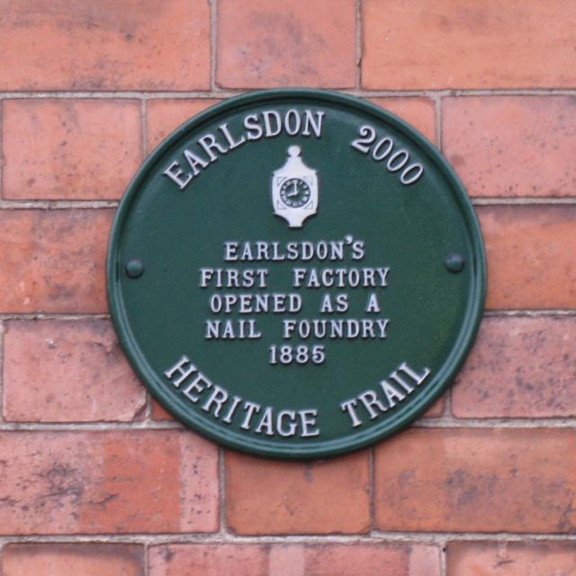 Plaque, Moor Street