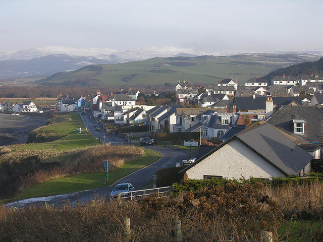 Upper Borth emerges from the freeze