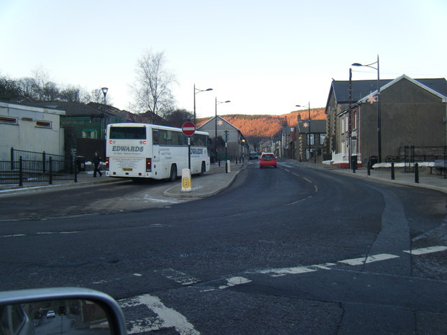 North Road/Station Road junction.