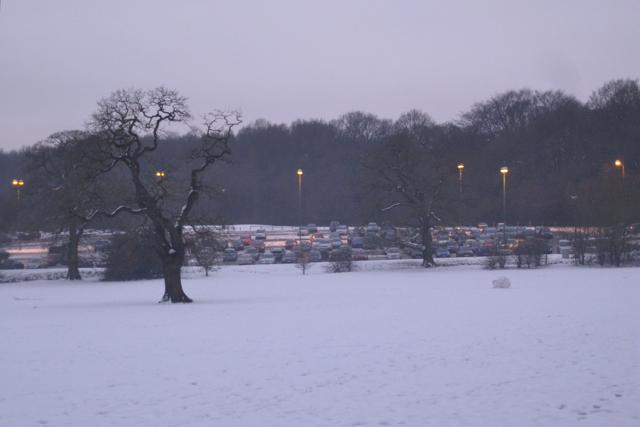 Coventry Park & Ride South car park