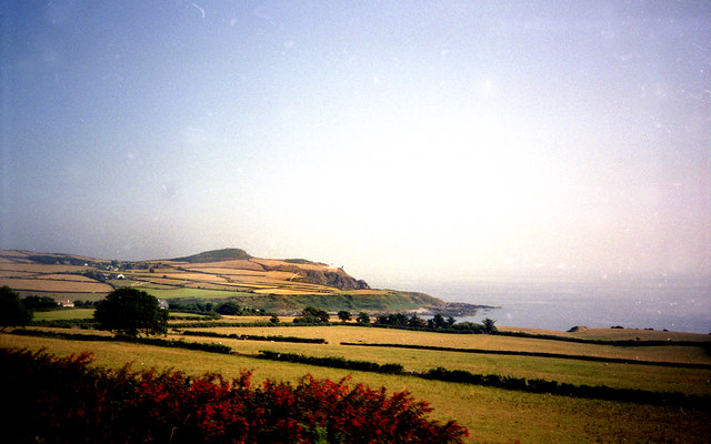 View towards Maughold Head