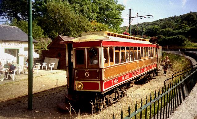 Dhoon Glen station, Manx Electric Railway