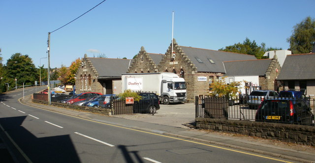 Dudley's Tydu Works, Tregwilym Road, Rogerstone