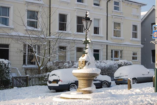 Fountain, Southborough Common