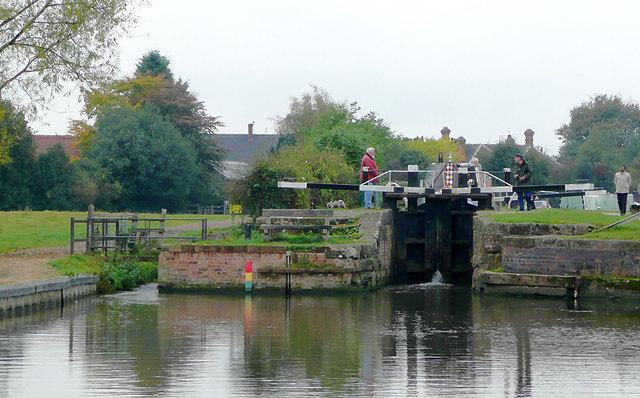 Alrewas Lock, Staffordshire