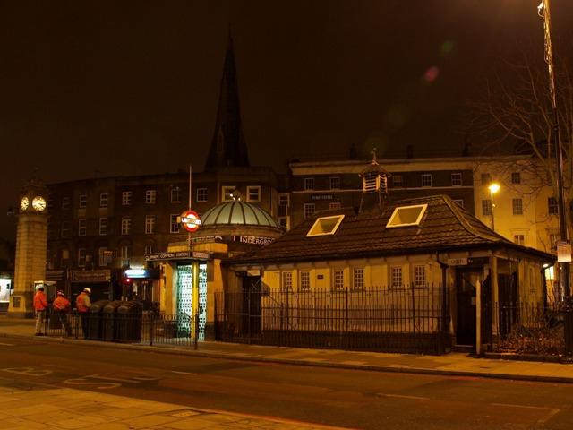 Disused Conveniences besides Clapham Common Station