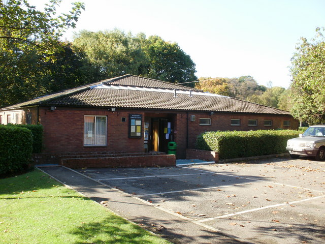 Community Council hall, Rogerstone Welfare Ground
