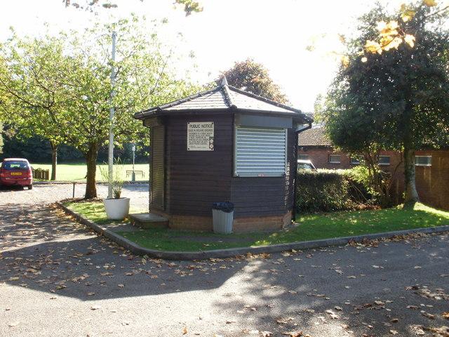 Kiosk, Rogerstone Welfare Ground