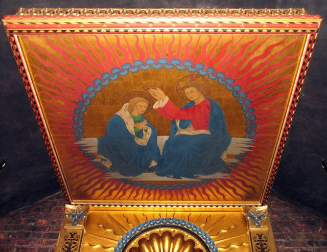 Shrine of Our Lady of Walsingham - Canopy in the Holy House