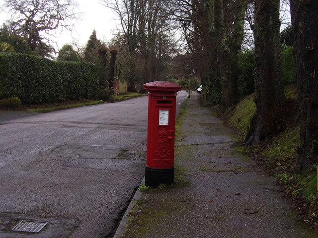 Edwardian Pillar Box