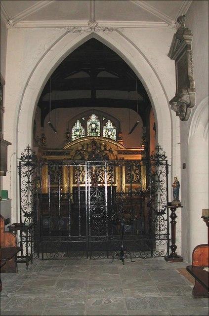 All Saints, Carshalton - Lady Chapel