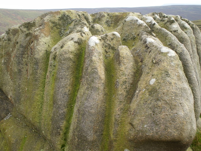 Time worn millstone grit - Bowland