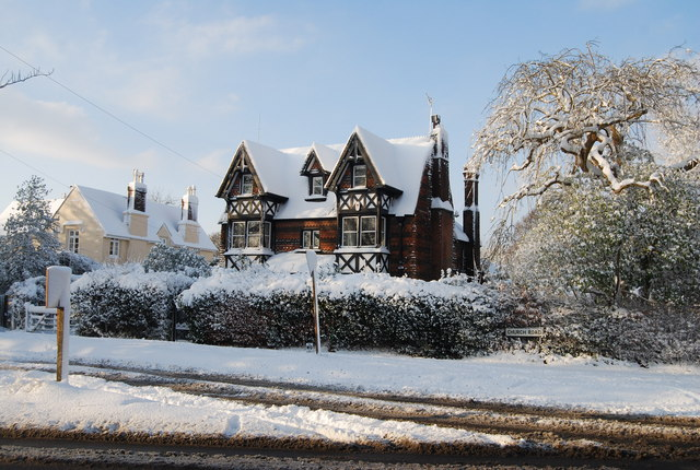 Large house on the edge of Southborough Common