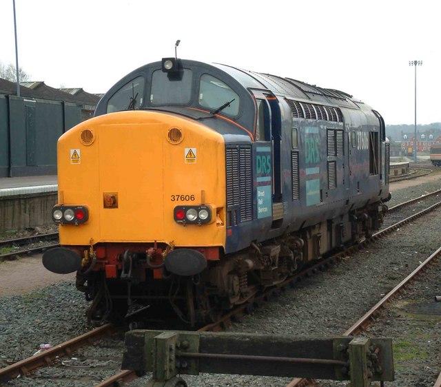 Locomotive stabled Norwich yard
