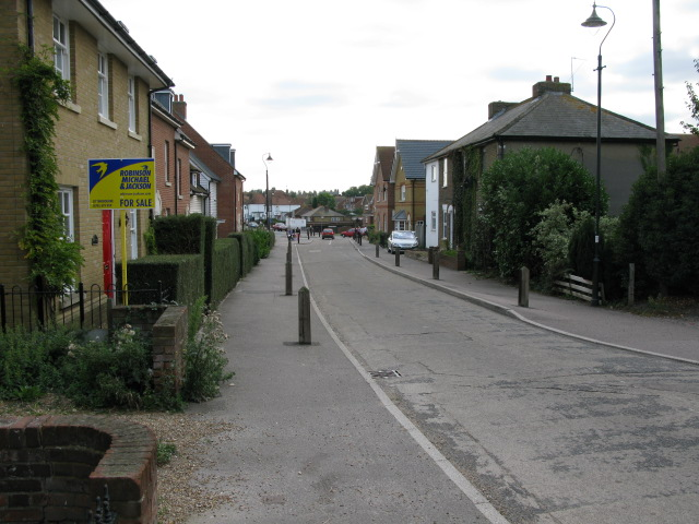 Looking S along The Street, Iwade
